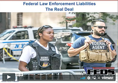 Federal Law Enforcement Liability Webinar